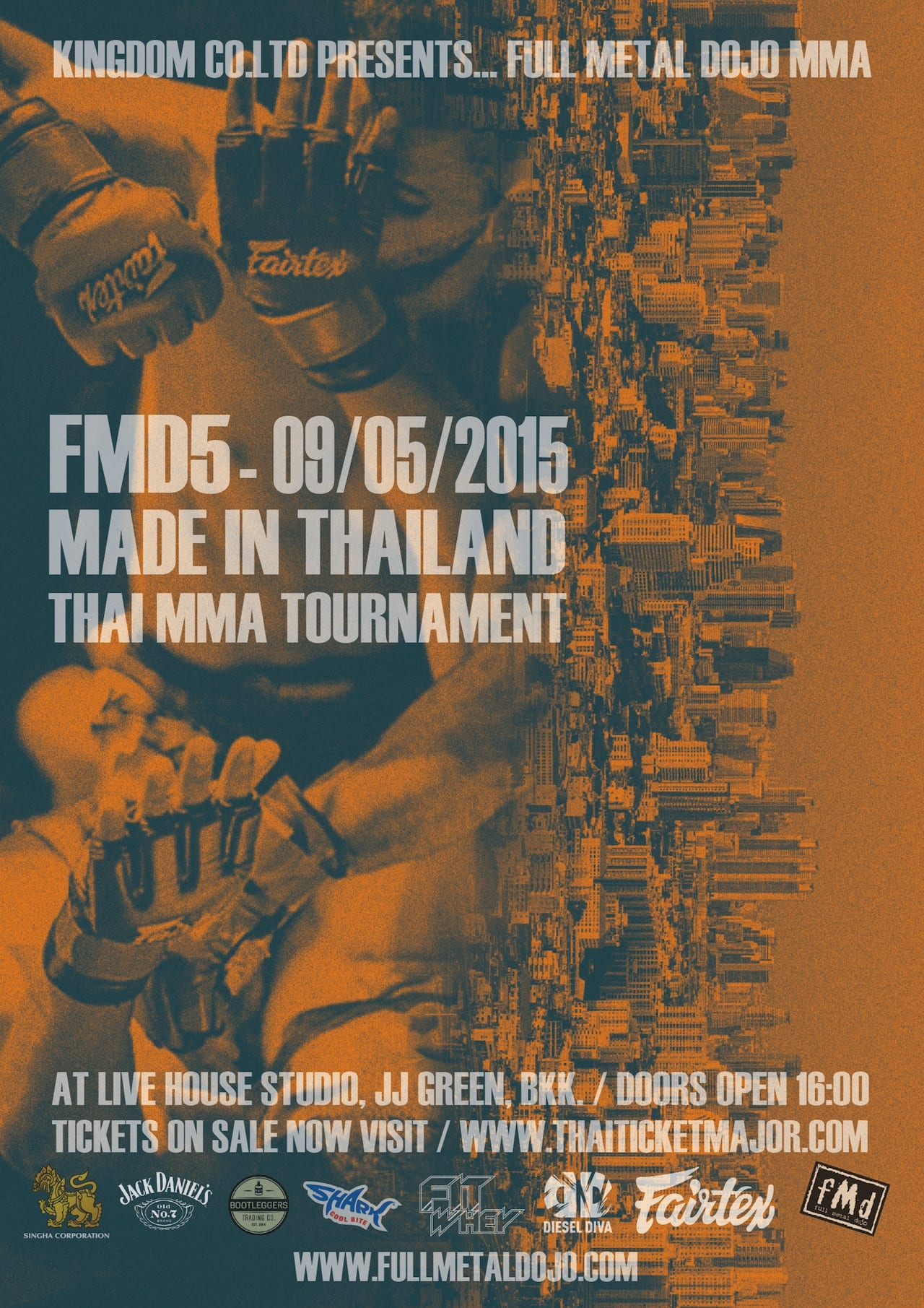 FMD5 Made in Thailand MMA Tournament
