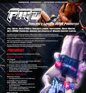 MMA Sponsorship Package English