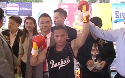 Thai Boxing Champion Makes MMA Debut